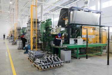 В Волгограде запущен новый цех по производству биметаллических радиаторов