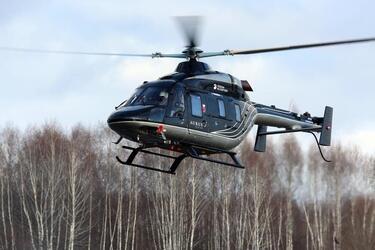 Завершились сертификационные испытания вертолёта Ансат Aurus