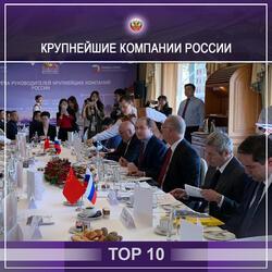 Российские компании - топ 10 крупнейших