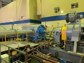 Разработанный НПО «Искра» компрессор для крупнейшей базы «Северного потока» успешно прошел испытания