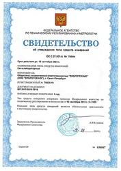 Сита лабораторные «ВИБРОТЕХНИК» в Государственном реестре средств измерений (РСИ).