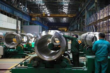 На заводе «Атоммаш» в Ростовской области модернизирован участок изготовления атомного оборудования
