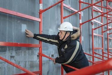 На Курской АЭС-2 на проектную мощность вышел цех по изготовлению сталефибробетонных панелей