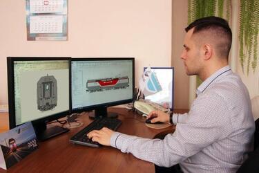 На заводе «Уральские локомотивы» запустили в производство бустерную секцию для электровоза «Синара»