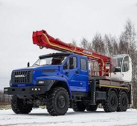 Российская компания представила новые модели автовышек на шасси УРАЛ Некст 6×6