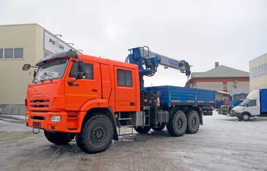 ОАО «ГАКЗ» начало выпуск КМУ-150 ГАЛИЧАНИН на шасси УРАЛ Некст и КАМАЗ с двухрядной кабиной