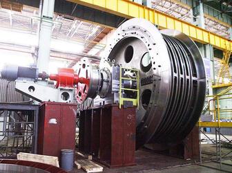 Уралмашзавод (УЗТМ) приступил к отгрузке шахтной подъемной машины в адрес АО «Сибирь-Полиметаллы»