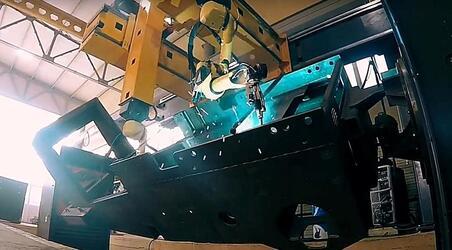 ДСТ-УРАЛ запустил новый цех роботизированной портальной сварки
