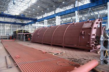 Белэнергомаш — БЗЭМ поставил котел для строительства утилизационной тепловой электростанции 25 мВт