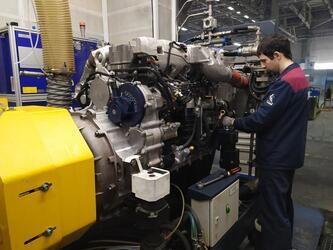КАМАЗ: новые стенды для испытаний двигателей Р6