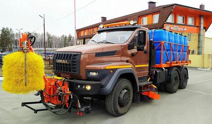 «Завод СпецАгрегат» выпустил новую ВМКД на шасси «Урал NEXT 6×4»