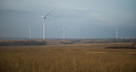 В Ростовской области заработала Каменская ветроэлектростанция