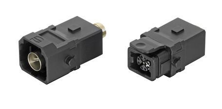 Прямоугольные соединители Han® 1A как новый интерфейс Ethernet