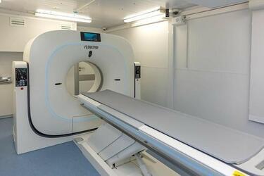 НИПК «Электрон» представила российский томограф в модуле для экспресс-диагностики пациентов