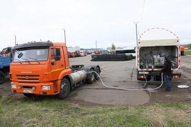 «КАМАЗ» на сжиженном природном газе тестируется в Магнитогорске