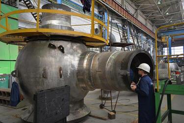На Петрозаводскмаше запущен первый мобильный токарный станок