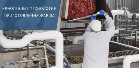 Криогенные технологии фаршеприготовления