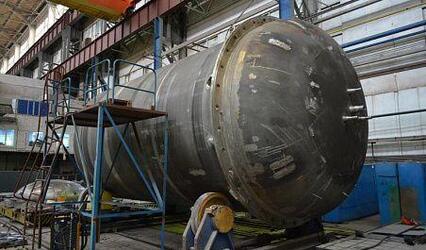 Петрозаводскмаш изготовил первый полукорпус емкости системы безопасности для АЭС