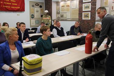 Обучение пожарной безопасности на работе