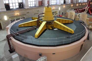 Новый гидрогенератор получит Рыбинская ГЭС