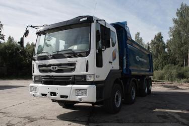 Daewoo Trucks начинает продажи новой модели самосвала в России