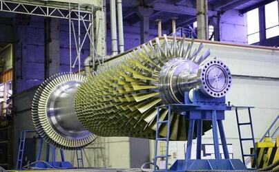 Силовые машины модернизировали стенд вертикальной сборки роторов газовых турбин