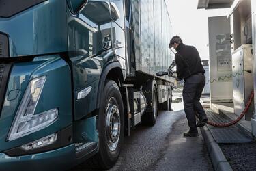 Volvo Trucks отмечает рост потребностей клиентов в газовых автомобилях в Европе