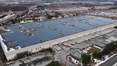 Энергоснабжение современных складов в России за счет солнечной энергии
