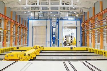 Новые окрасочные комплексы ввели в эксплуатацию на заводе «Метровагонмаш» в Подмосковье