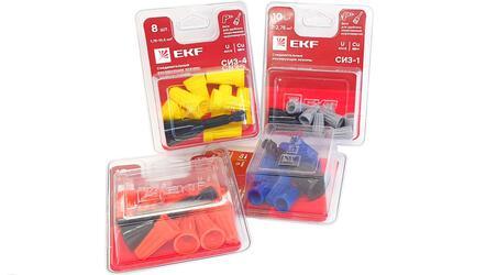 Уникальные колпачки СИЗ в блистерной упаковке с битой от EKF