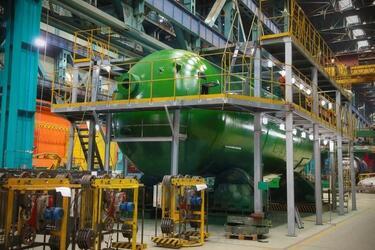 На «Атоммаше» изготовили первый парогенератор новой модификации для энергоблока №1 Курской АЭС-2