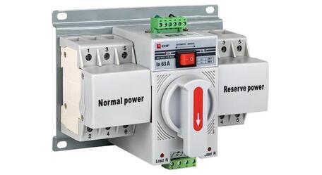 Компактный автоматический ввод резерва MCB серии PROxima от EKF