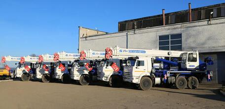 Галичский Автокрановый Завод отгрузил партию из 27 кранов в адрес «Сургутнефтегаз»