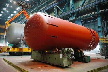 На Атоммаше изготовили оборудование для первого реактора АЭС Руппур
