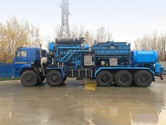КАМАЗ создал и вывел на рынок новые многоосные шасси для нефтесервисных компаний