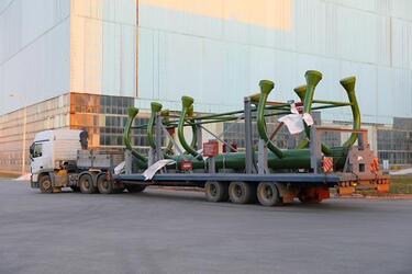 «Атоммаш» отгрузил оборудование для первого энергоблока АЭС «Руппур» (Бангладеш)