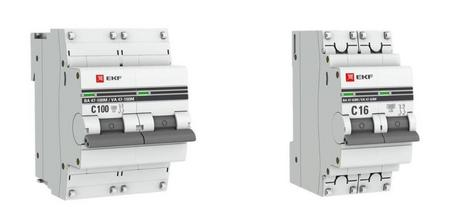 Новые автоматические выключатели EKF для систем противопожарной защиты