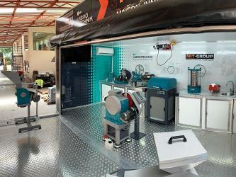 Мобильная лаборатория «ВИБРОТЕХНИК» в ЮАР