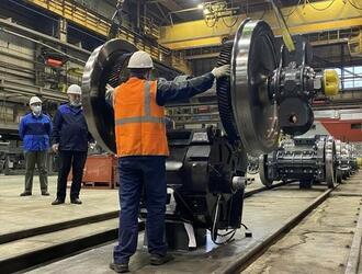 На «Уральских локомотивах» приступили к опытной сборке узлов нового грузового электровоза 2ЭС6А