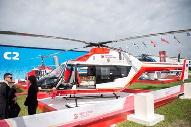 «Вертолеты России» оснастят медицинские «Ансаты» модулями для спасения новорожденных