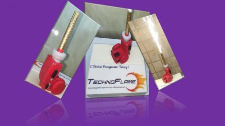 """TECHNOFLAME: испытание """"сладкой"""" горелки"""
