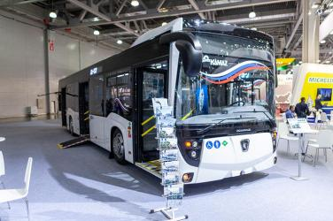 НЕФАЗ представил новую модель городского автобуса