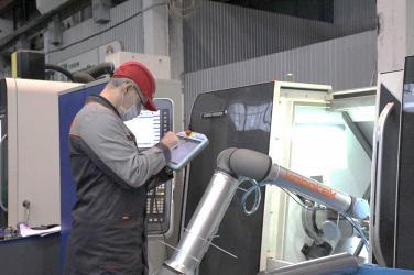Петрозаводскмаш роботизирует технологии изготовления продукции