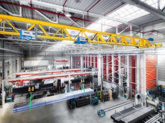 Шесть кранов Demag будут поставлены на завод BONUM