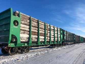 Оператор «Архбум» получил новую партию тихвинских платформ для леса