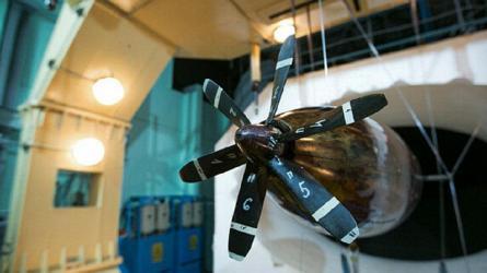 В ЦАГИ испытана новая модель толкающего винта