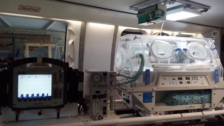 Медицинские вертолёты Ансат начали оснащать отечественными неонатальными комплексами