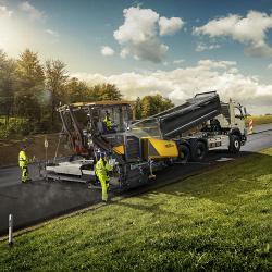 «Умные» функции техники для дорожного строительства