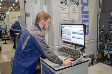 В ОДК-Пермские моторы на всем оборудовании установлена система цифровизации производства «Диспетчер»
