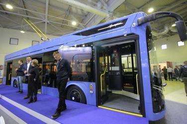 «ПК Транспортные системы» представила новый троллейбус с динамической зарядкой